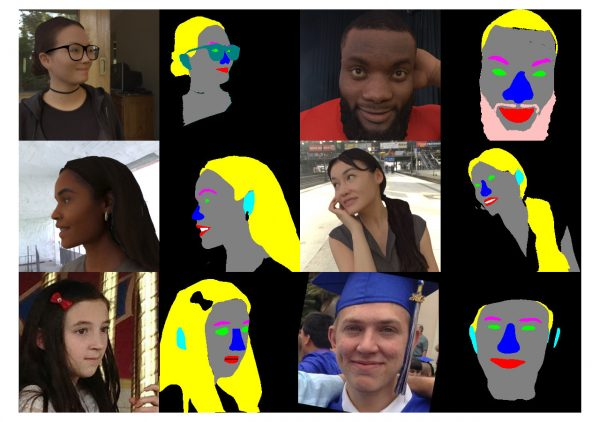 Head segmentation dataset